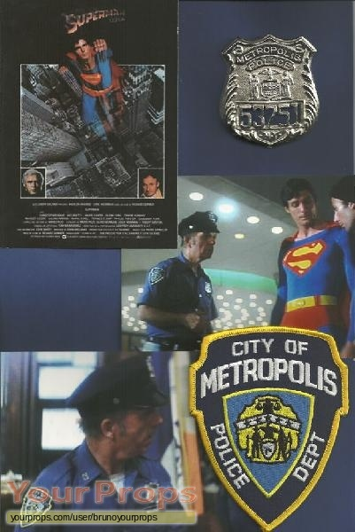 Superman original movie prop