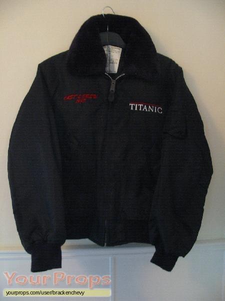 Titanic original film-crew items