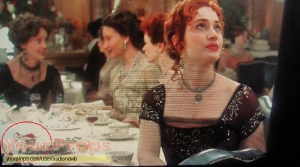 Titanic Silver Bowl From 1st Class Dinner Scene original