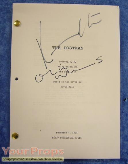 The Postman original production material