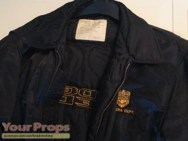 Judge Dredd original film-crew items