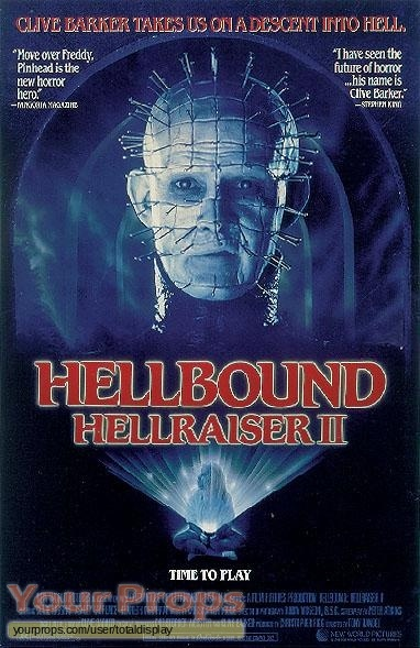 Hellraiser 2  Hellbound original movie prop
