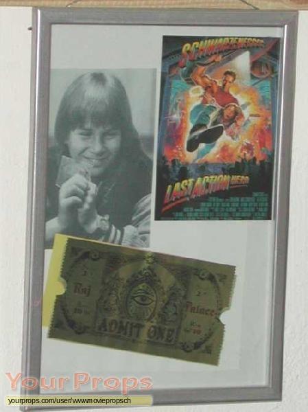 Last Action Hero original movie prop