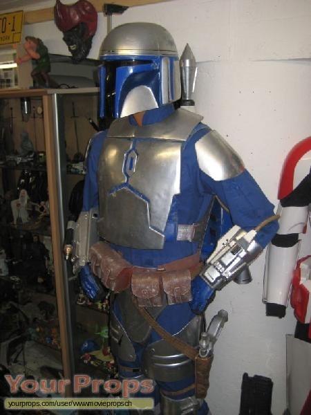 Star Wars  Attack Of The Clones replica movie costume