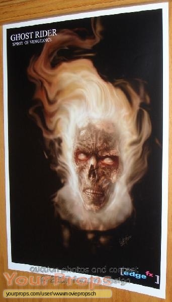 Ghost Rider original production artwork