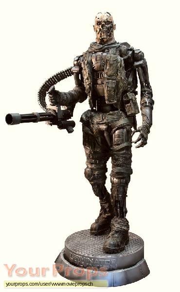 Terminator Salvation replica production material