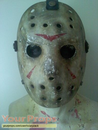 Friday the 13th replica movie costume