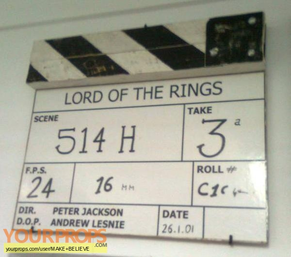 Lord of The Rings  The Fellowship of the Ring replica production material