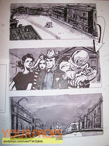 Phantoms original production artwork