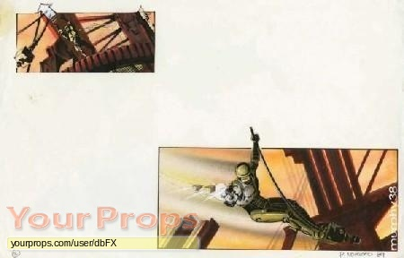 Robocop 2 original production artwork