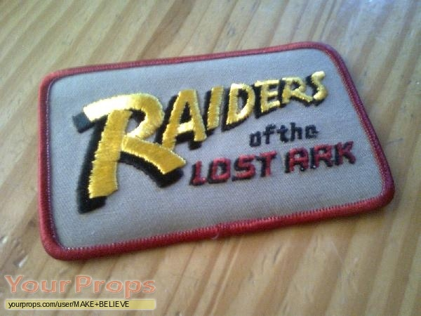 Indiana Jones And The Raiders Of The Lost Ark original film-crew items