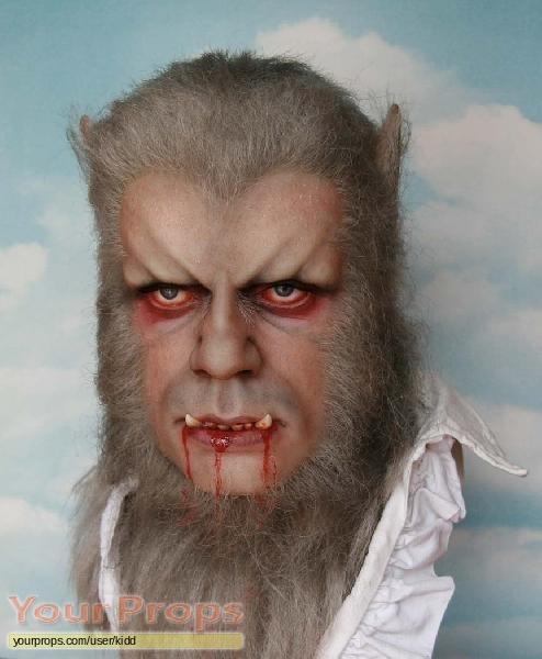 The Curse of the Werewolf replica movie prop