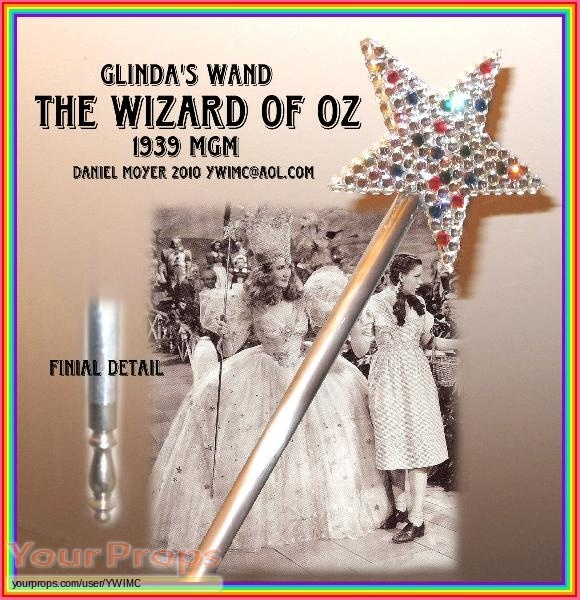 The Wizard of Oz replica movie prop