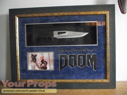 Doom original movie prop weapon