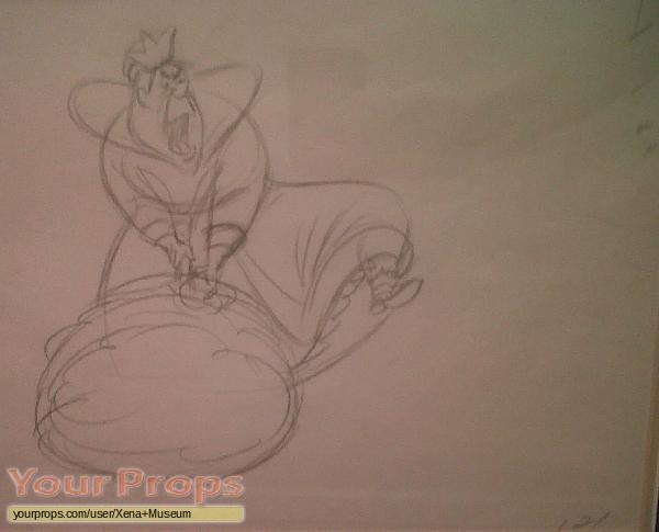 Alice In Wonderland original production artwork