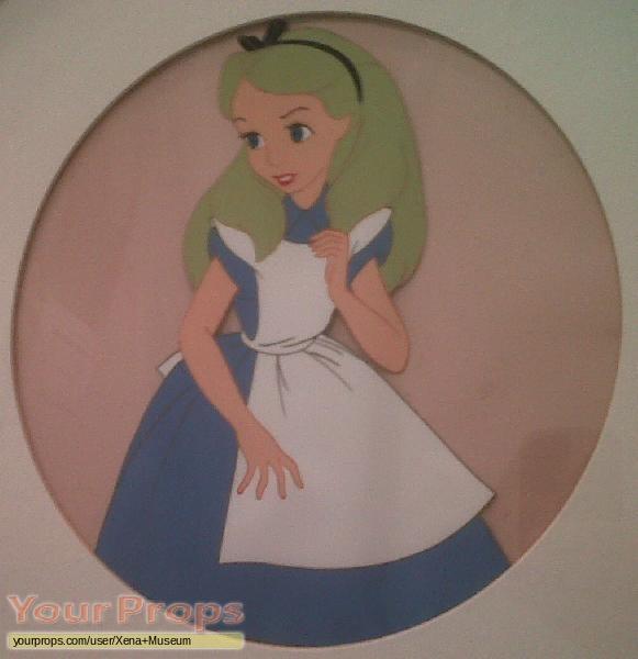 Alice In Wonderland original production material