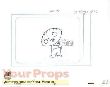Family Guy original production artwork