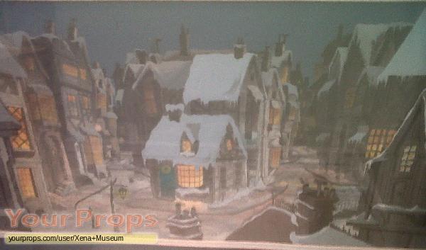 Mickeys Christmas Carol original production material