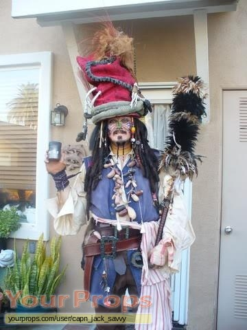 Pirates of the Caribbean  Dead Mans Chest replica movie costume