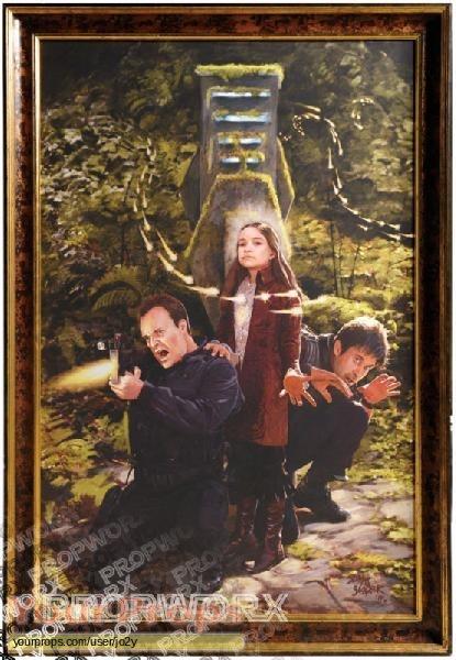 Stargate Atlantis Harmony S Victory Painting Original Tv
