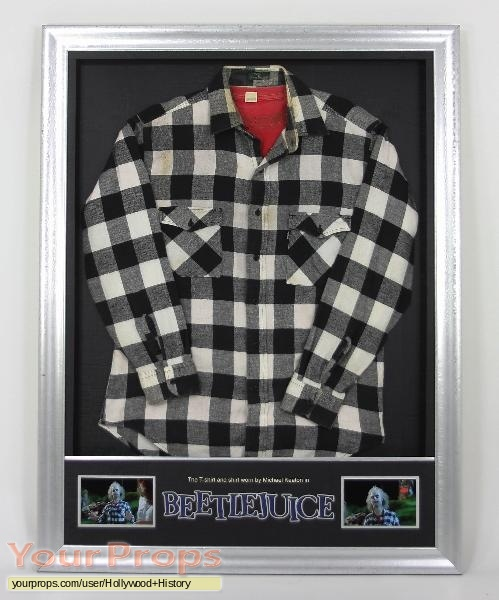 Beetlejuice original movie costume