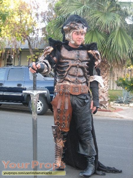 Highlander replica movie costume