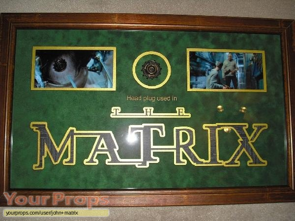 The Matrix original movie prop