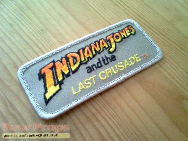 Indiana Jones And The Last Crusade replica production material