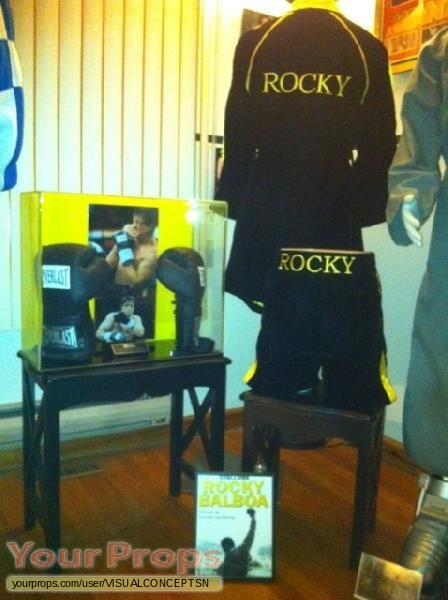 Rocky Balboa replica movie costume