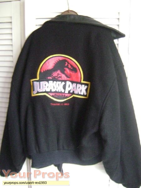 Jurassic Park original film-crew items