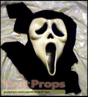 Scream replica movie prop