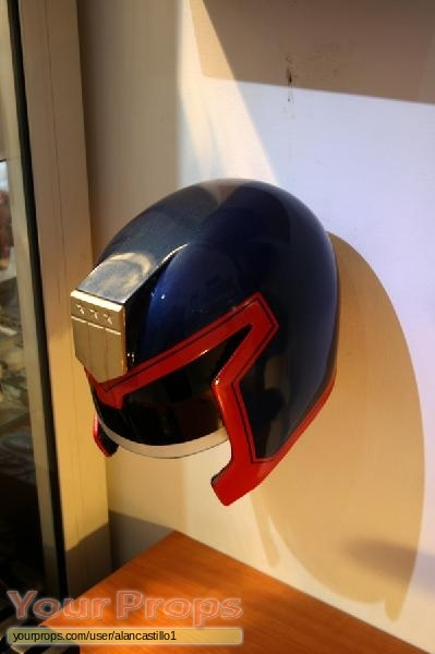 Judge Dredd replica movie prop