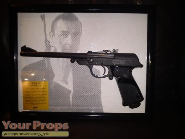 James Bond  From Russia With Love replica movie prop weapon