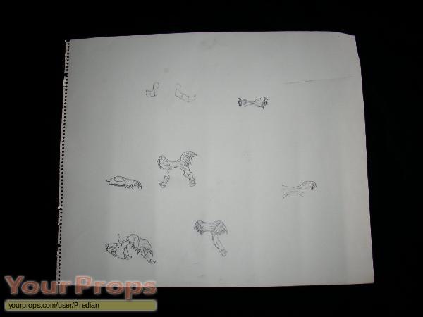 Predator original production artwork