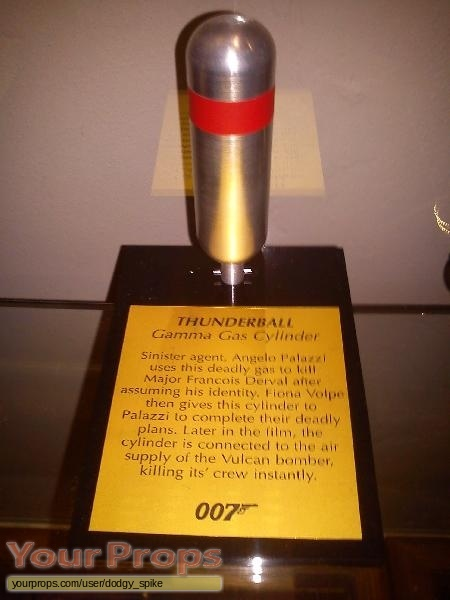 James Bond  Thunderball replica movie prop