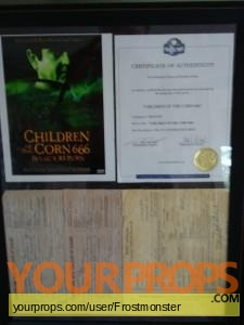 Children of Corn 666  Isaacs Return original movie prop