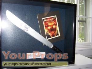 Friday the 13th  Part 8  Jason Takes Manhattan original movie prop weapon