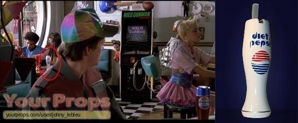 Back To The Future 2 replica movie prop