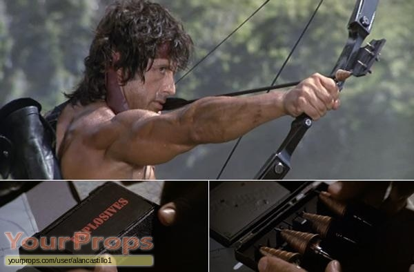 Rambo  First Blood Part 2 replica movie prop weapon