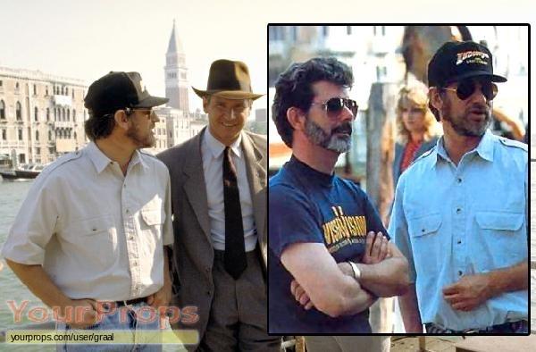 Indiana Jones And The Last Crusade original film-crew items