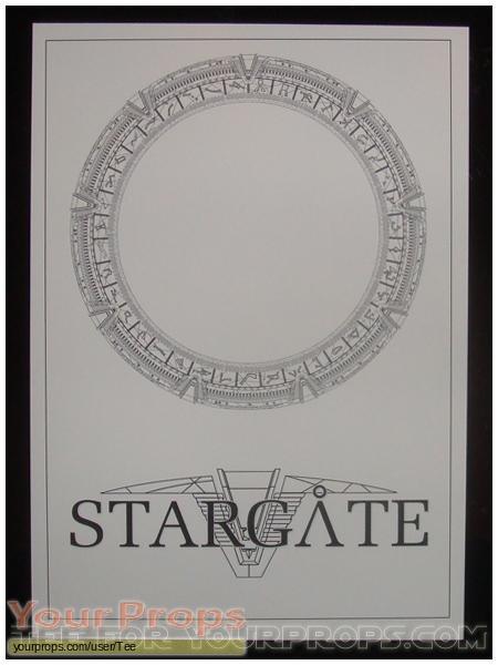 Stargate replica production material