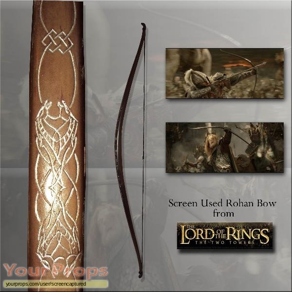 Lord of the Rings Trilogy original movie prop