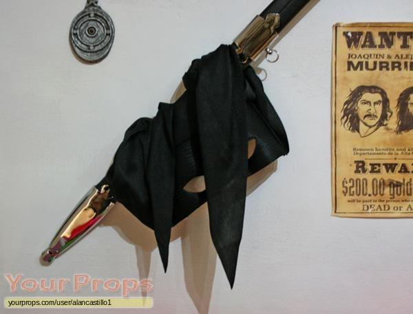 The Mask of Zorro replica movie prop