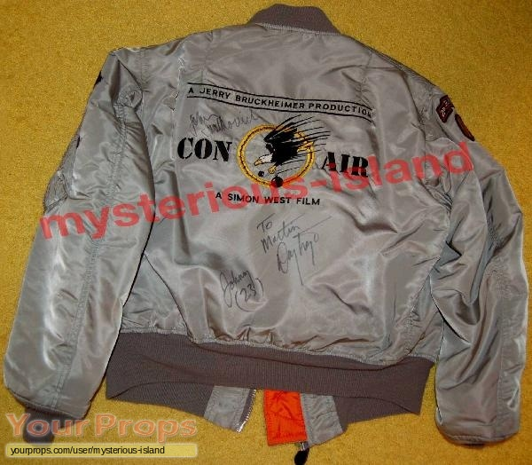 Con Air original film-crew items