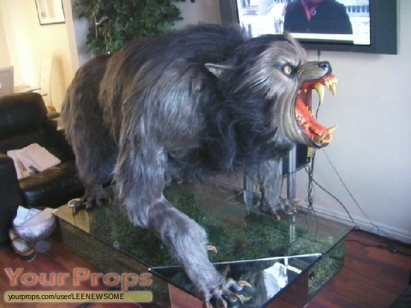 An American Werewolf in London replica movie prop