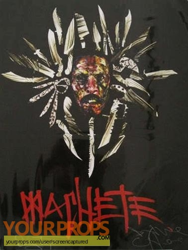 Machete original production artwork
