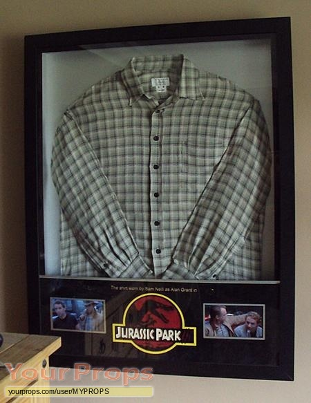 Jurassic Park 3 original movie costume