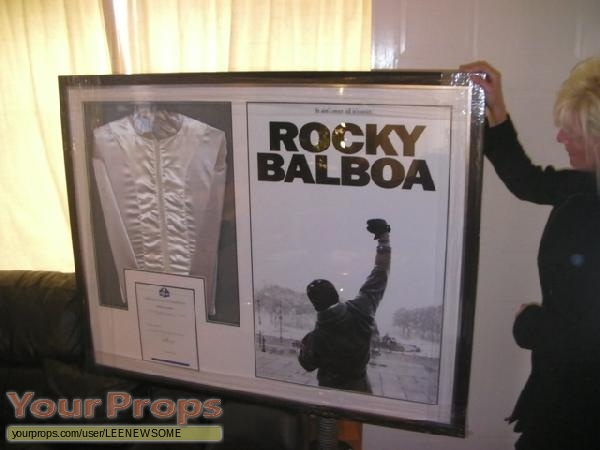Rocky Balboa original production material