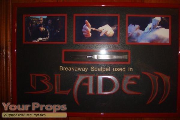 Blade 2 original movie prop