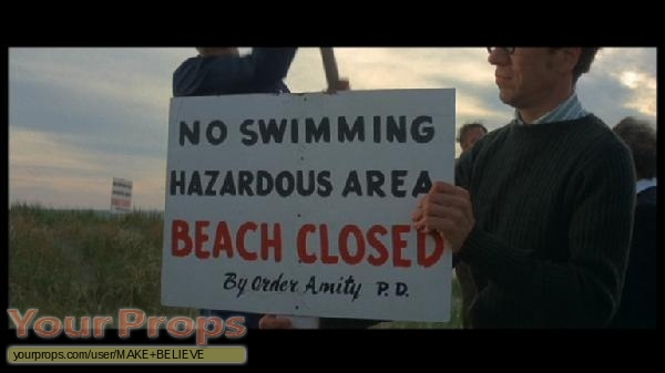 Jaws replica movie prop